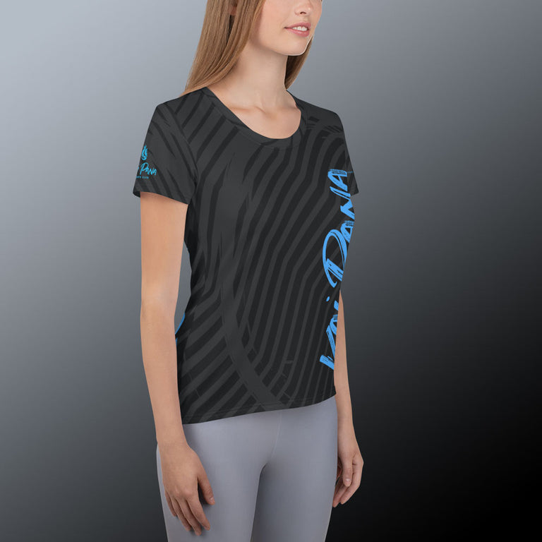 Women's Kai Pana PaddleDry Performance Top, Charcoal