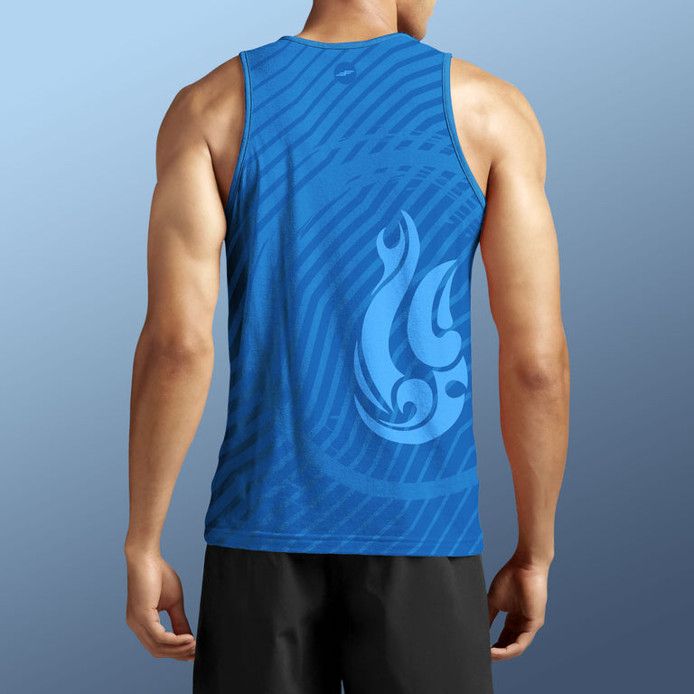 Men's Kai Pana Performance Tank Top, Marine Hook