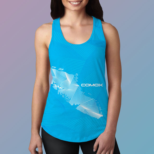 Women's Team Comox Performance Racerback Tank