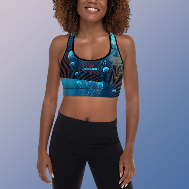 Women's Team Comox Padded Sports Bra