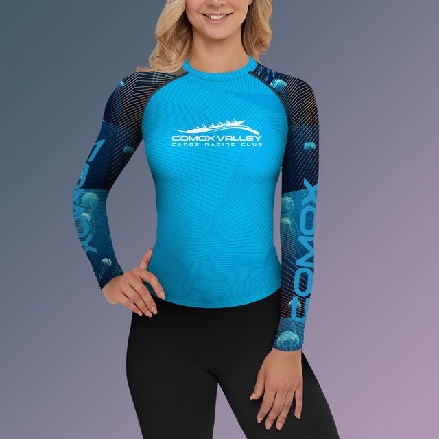 Women's Team Comox Long Sleeve Performance Paddling Top