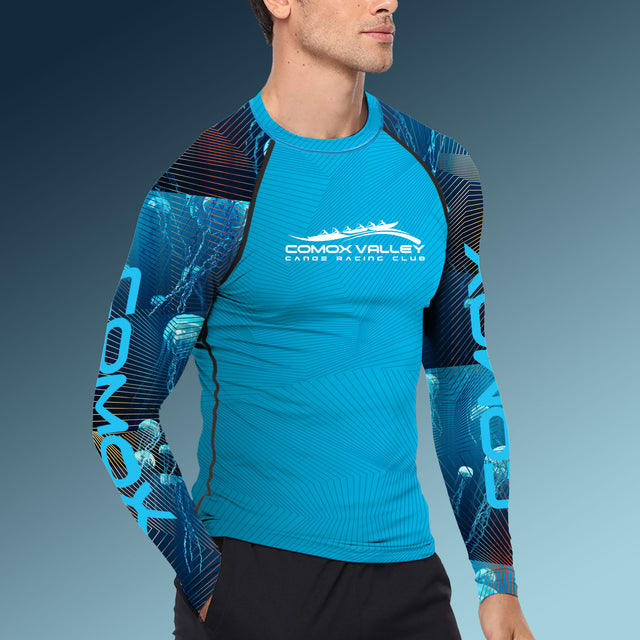 Men's Team Comox Long Sleeve Performance Paddling Top