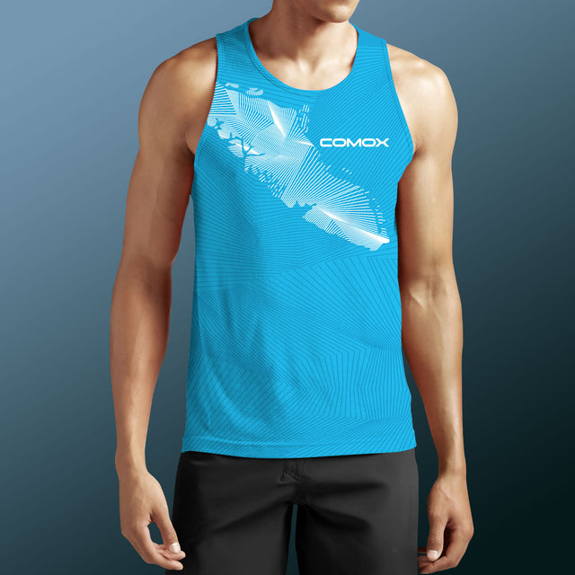 Men's Team Comox PaddleDry Tank Tap