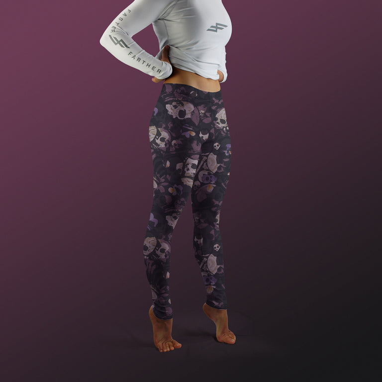 Bone Collector Leggings, Nightshade