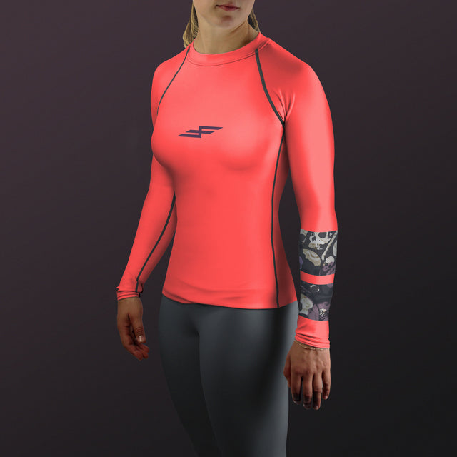 Women's Nightshade Bone Collector Rash Guard