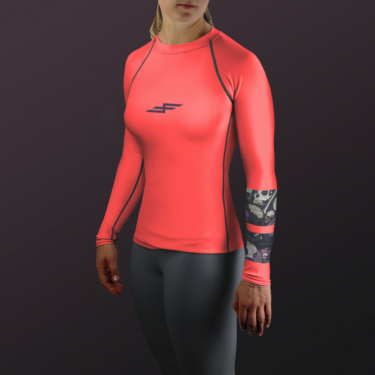 Women's Nightshade Bone Collector Compression Fit Paddling Top