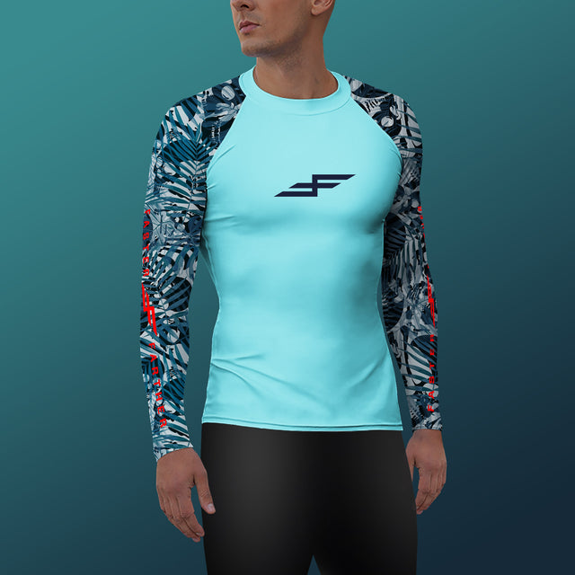 Men's X-Ray Compression Fit Paddling Top
