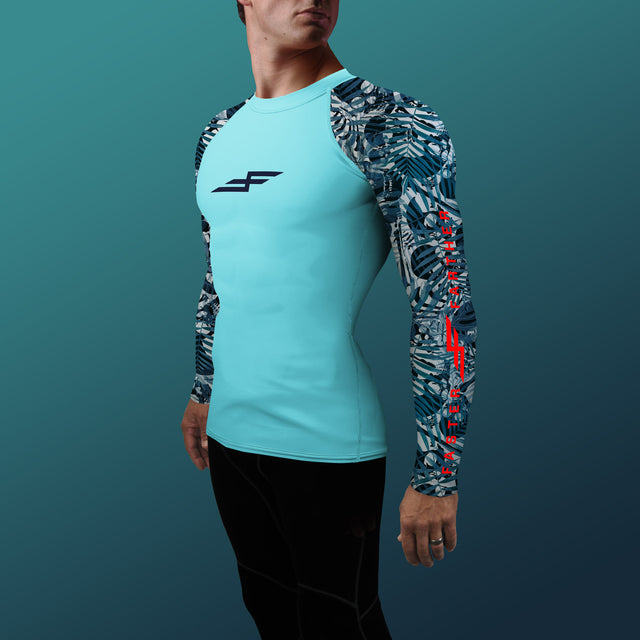 Men's X-Ray Rash Guard