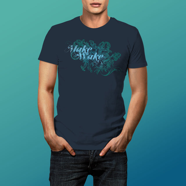 Men's Make Wake T-Shirt, Midnight Navy