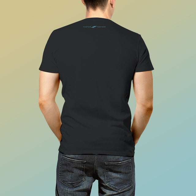 Men's Wave Hunter T-Shirt, Black