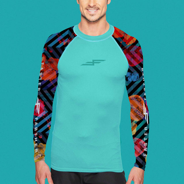 Men's Deep Sea Long Sleeve Paddling Top