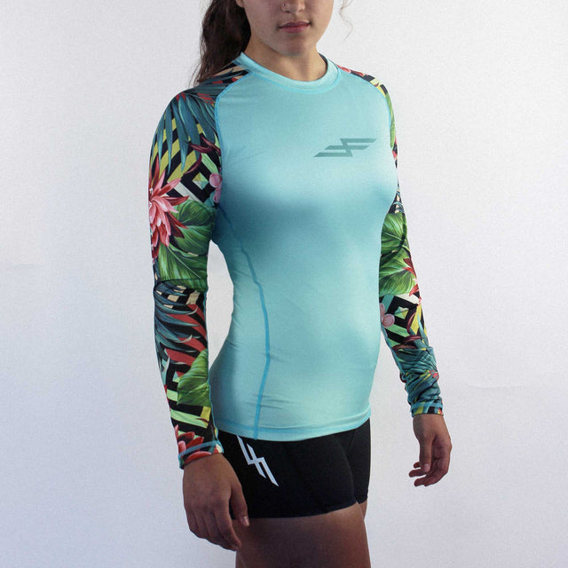 Women's Garden Long Sleeve Paddling Top