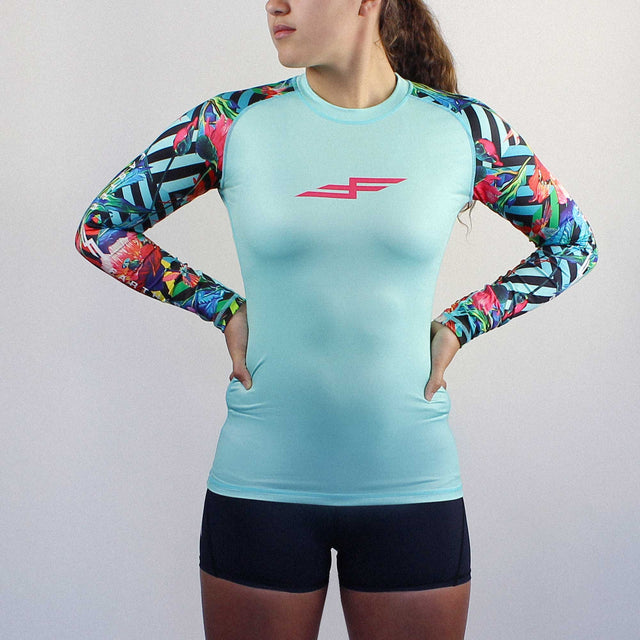 Women's Hummingbird Long Sleeve Paddling Top