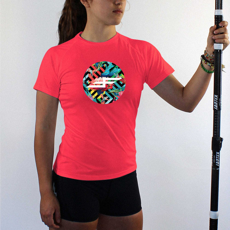 Women's Humingbird Short Sleeve Performance Paddling Top