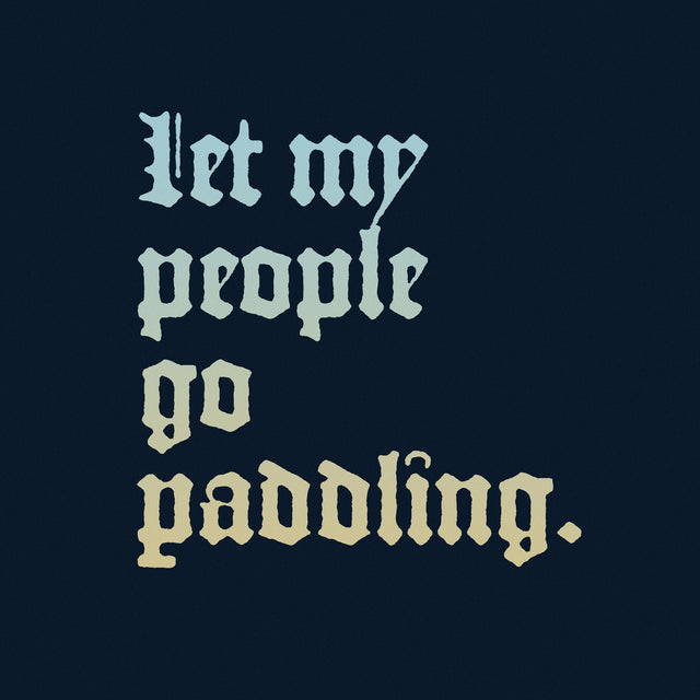 Let My People Go Paddle Unisex T-Shirt