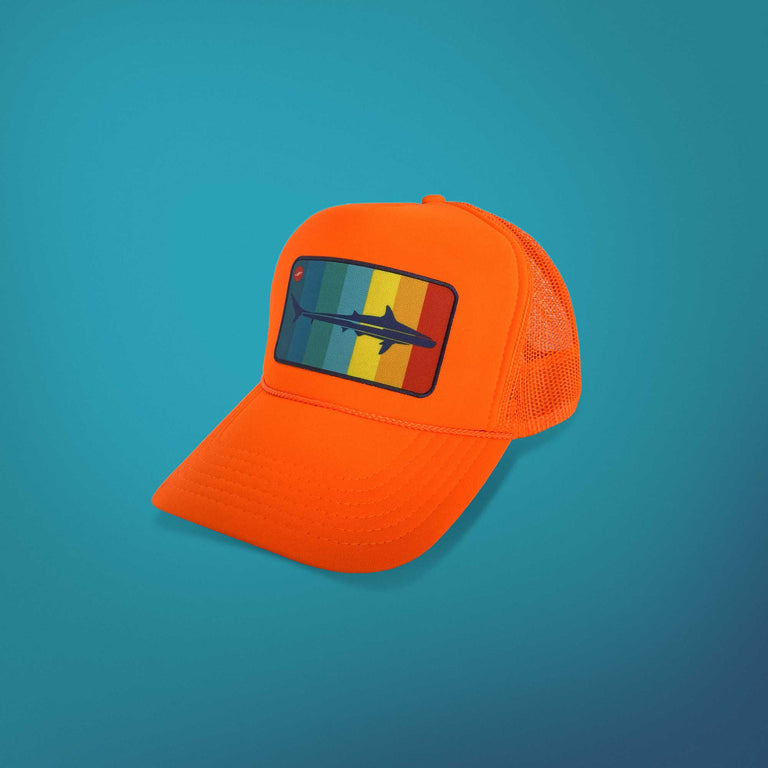 Mako Surf Trucker Hat, Crush Orange