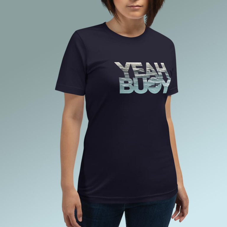 Faster Farther Yeah Buoy Unisex Shirt