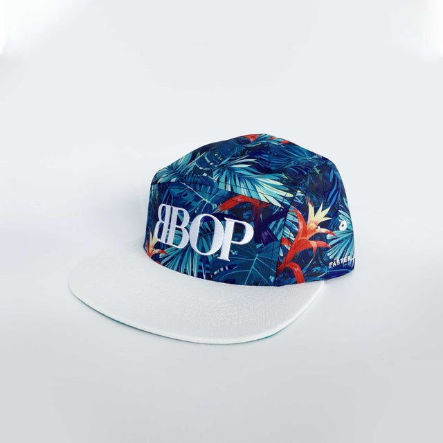 BBOP Tropical Five Panel Cap