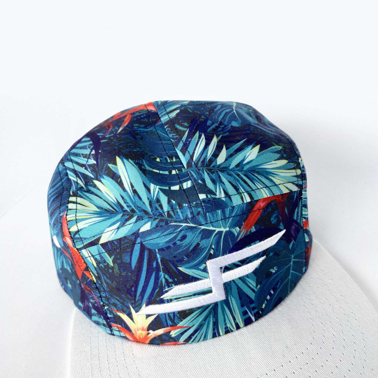 Faster Farther Tropic Thunder Flat Brim Hat