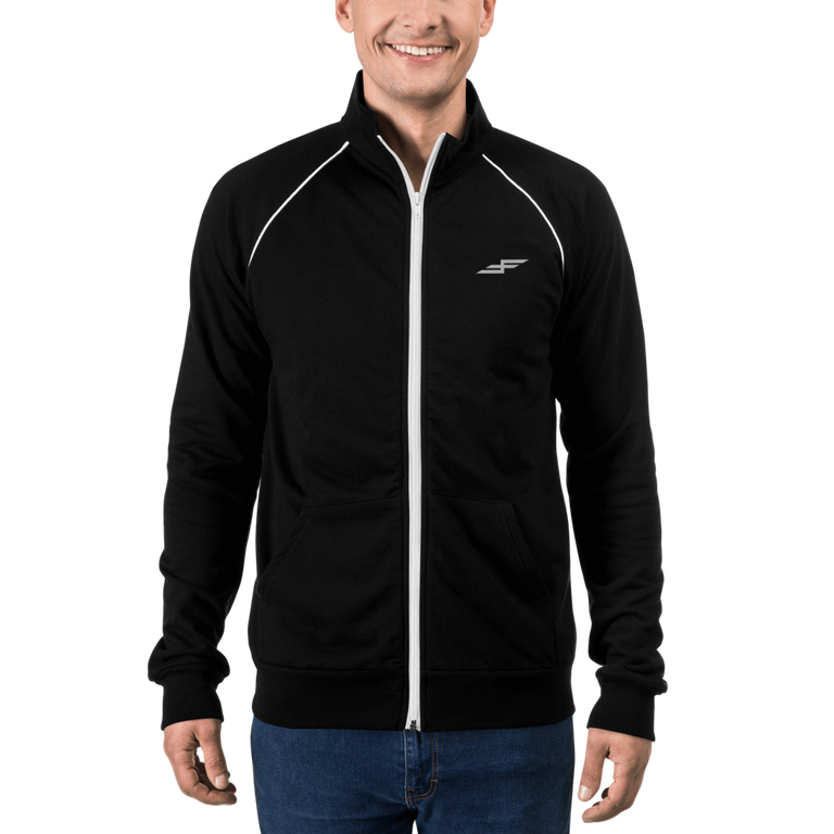 Men's Faster Farther Bolt Piped Fleece Jacket