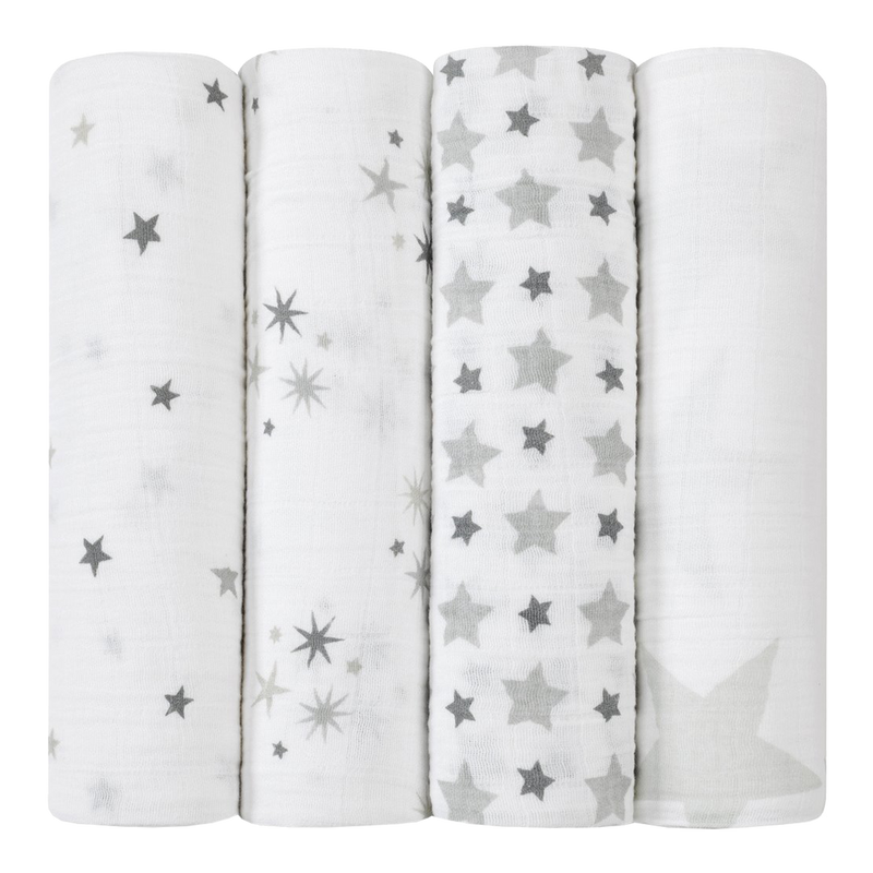 Aden + Anais Classic Swaddles (4 Pack) - Twinkle