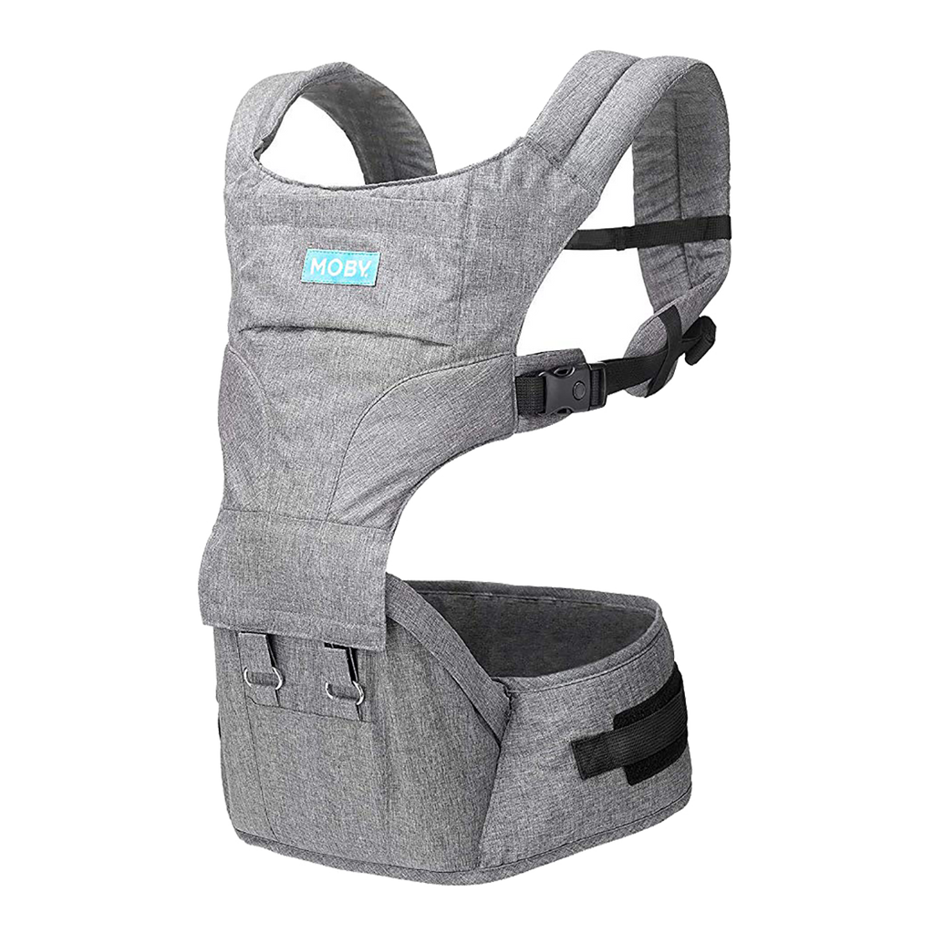 Moby 2-in-1 Carrier + Hip Seat Baby Carrier