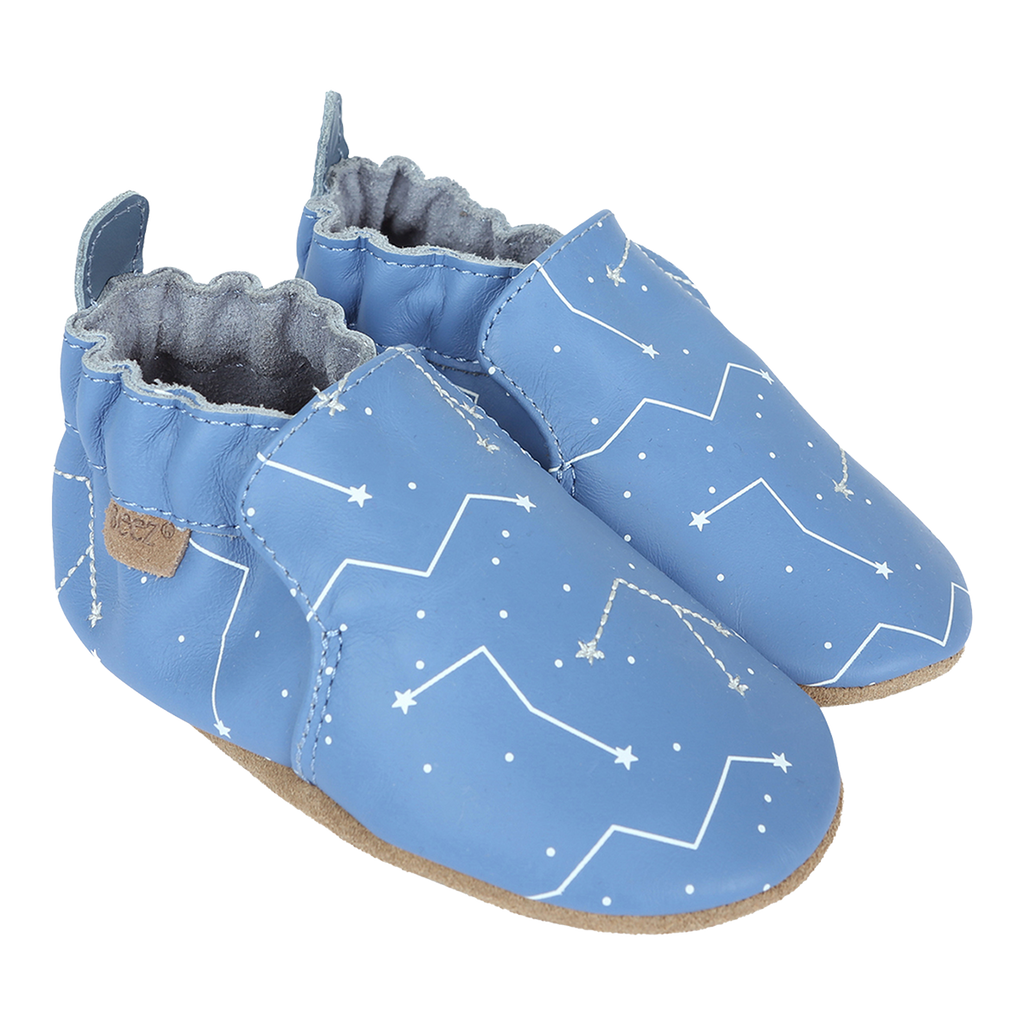 Robeez Star Gazer Soft Soles Shoes