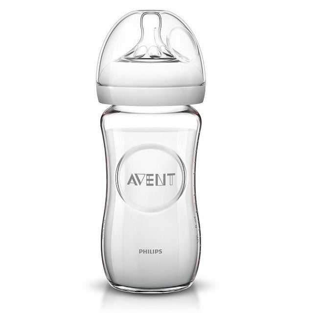 Philips Avent Natural Glass 9oz Bottle - Kacz' Kids - 2