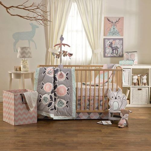 Lolli Living 4 pc Crib Set - Sparrow - Kacz' Kids - 1