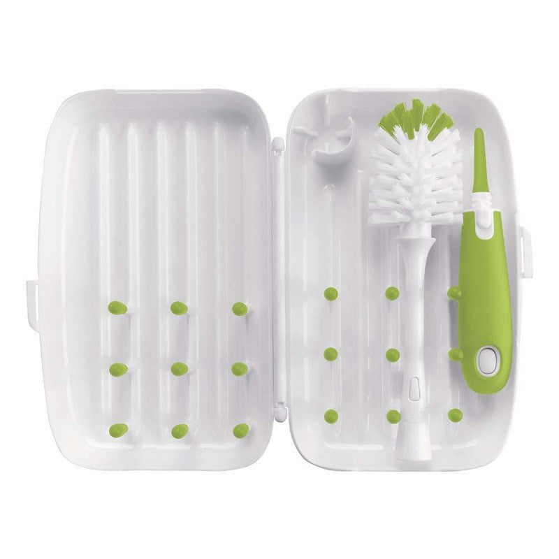 Oxo Tot Travel Drying Rack & Brush - Kacz' Kids