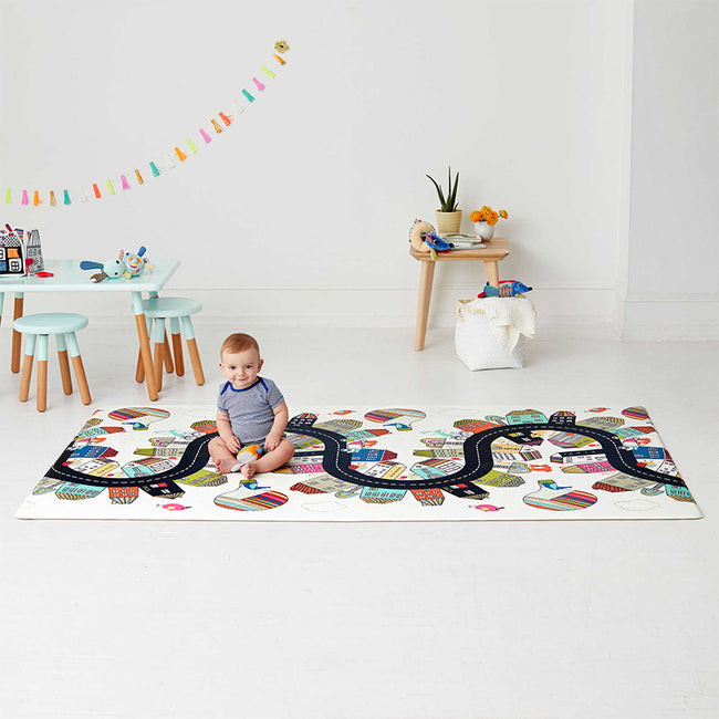Skip Hop Doubleplay Reversible Playmat - Vibrant City