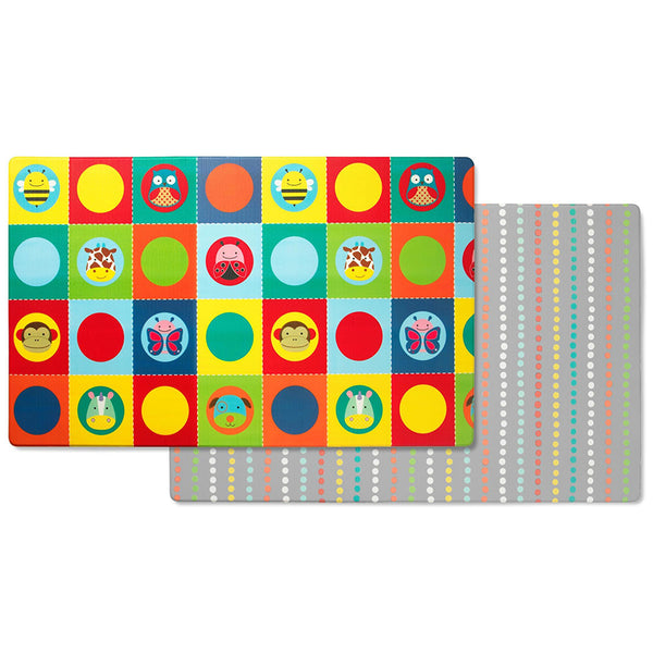 Skip Hop Doubleplay Reversible Playmat - Zoo