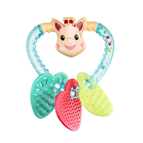 Sophie Heart Rattle - Kacz' Kids