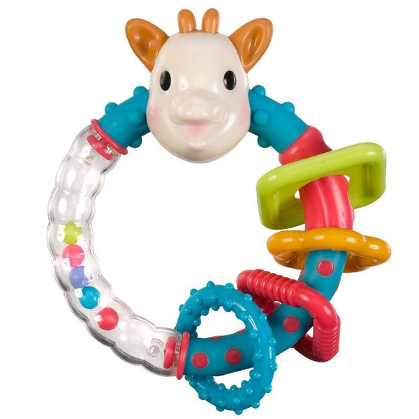 Sophie Multi-Textured Rattle - Kacz' Kids - 1
