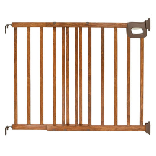 Summer Infant Deluxe Wood Stairway Gate - Kacz' Kids - 1