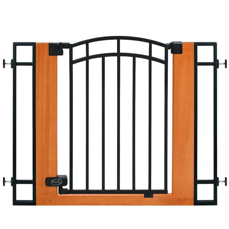 Summer Infant Wood & Metal Gate - Kacz' Kids - 1