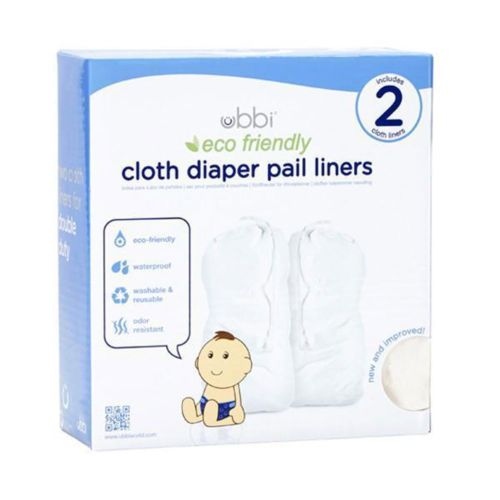 Ubbi Cloth Diaper Pail Liner 2pk.