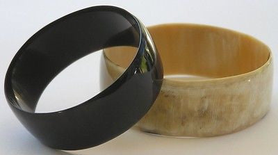 BUFFALO HORN BRACELET 1 INCHES