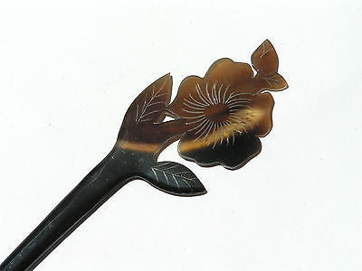 Buffalo Horn  Hair Stick