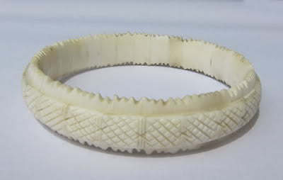 Buffalo Bone  Bracelet Bangle