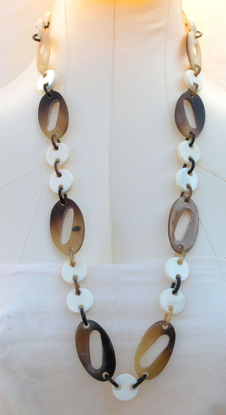 Buffalo Horn Bone Necklace