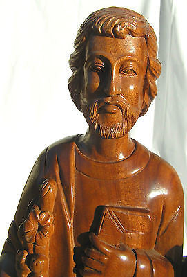 Christian Religious Wood Inspired Statue Figure Home Decor