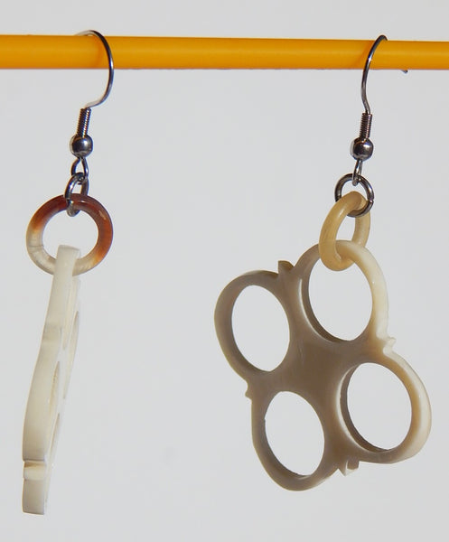 Buffalo Bone Earring