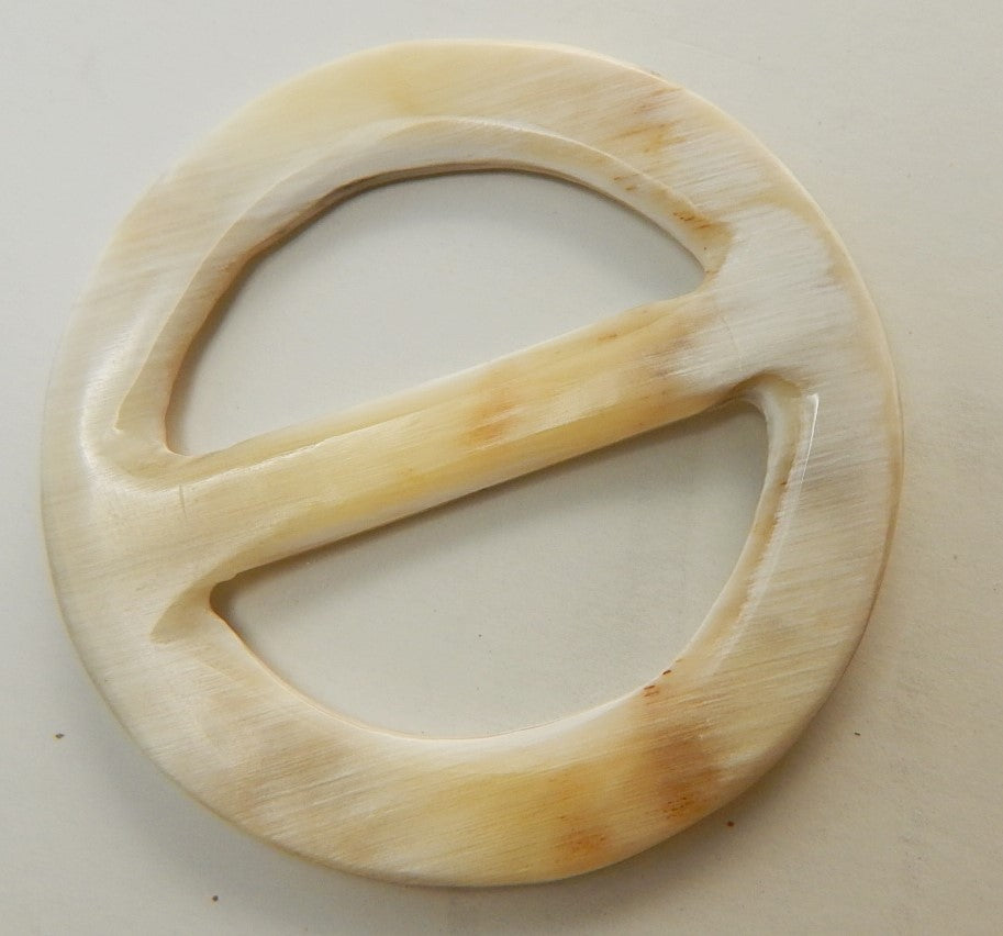 Buffalo Horn Scarf Ring