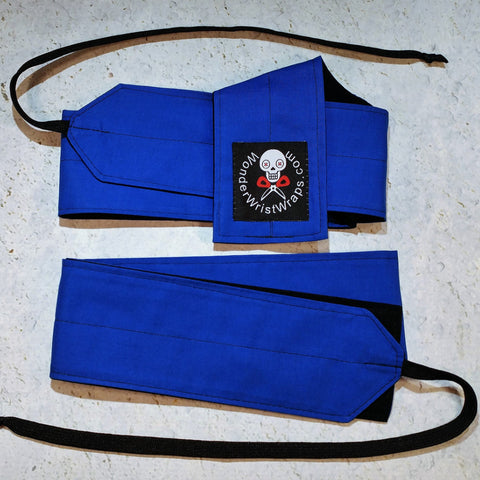 Royal Blue Wrist Wraps