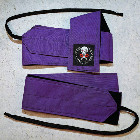 Purple Wrist Wraps