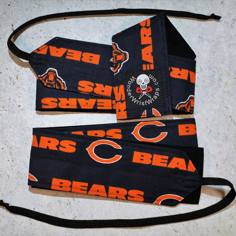 Chicago Bears Wrist Wraps