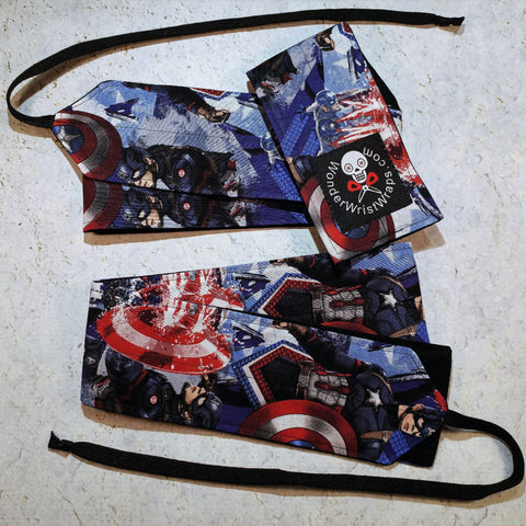 Captain America Wrist Wraps