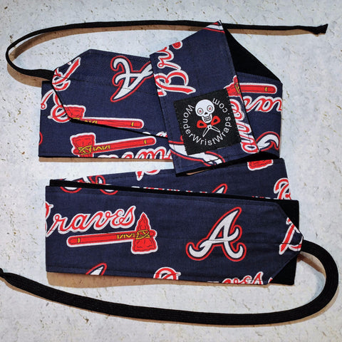 Atlanta Braves Wrist Wraps