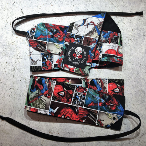 Spider-Man Wrist Wraps